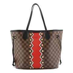 Louis Vuitton Neverfull NM Tote Limited Edition Karokoram Damier MM