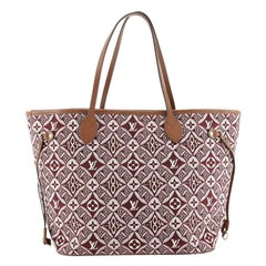 Louis Vuitton Neverfull NM Tote Limited Edition Since 1854 Monogram Jacqu