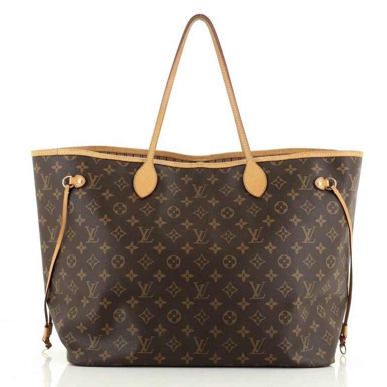 Louis Vuitton Neverfull NM Tote Monogram Canvas GM In Good Condition For Sale In New York, NY
