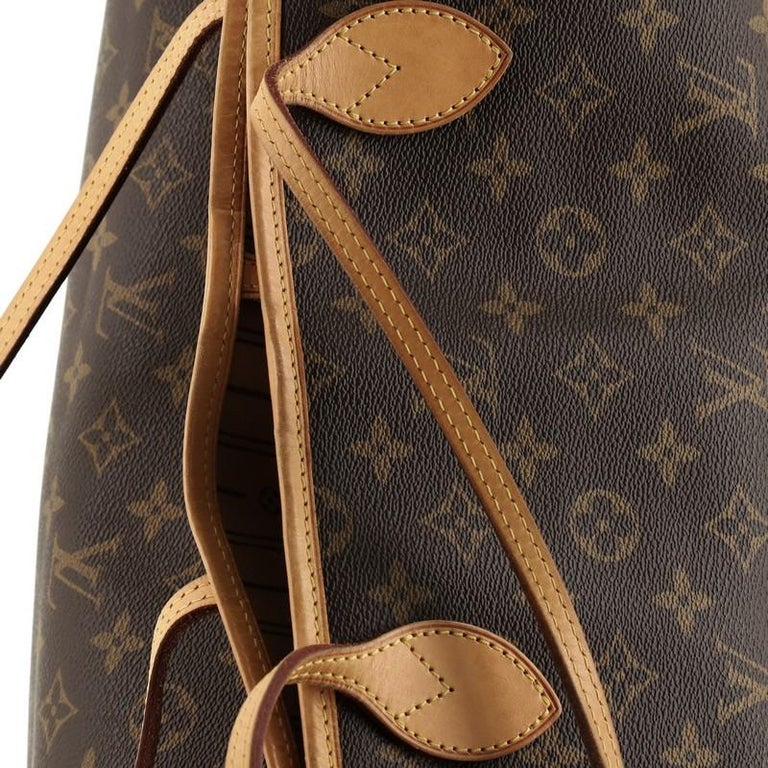 Louis Vuitton Neverfull NM Tote Monogram Canvas GM For Sale 2