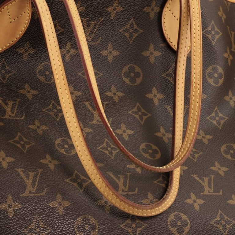 Louis Vuitton Neverfull NM Tote Monogram Canvas GM For Sale 3