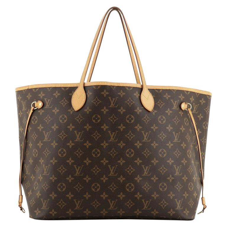Louis Vuitton Neverfull NM Tote Monogram Canvas GM For Sale