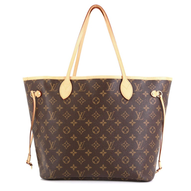 Louis Vuitton Neverfull NM Tote Monogram Canvas MM In Good Condition In New York, NY