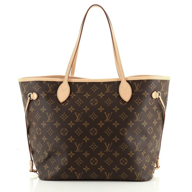 Louis Vuitton Neverfull NM Tote Monogram Canvas MM In Good Condition For Sale In New York, NY
