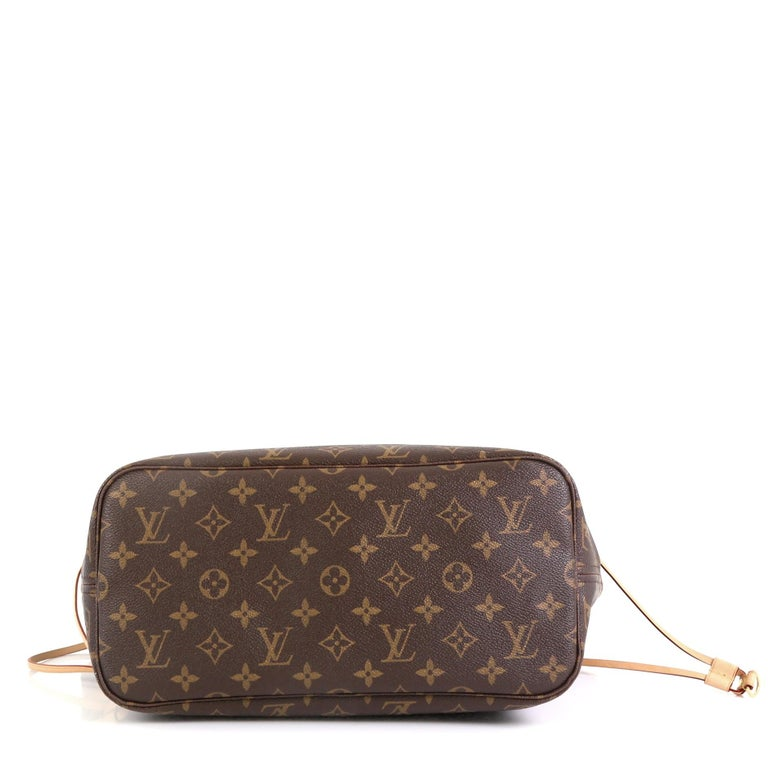 Women's Louis Vuitton Neverfull NM Tote Monogram Canvas MM