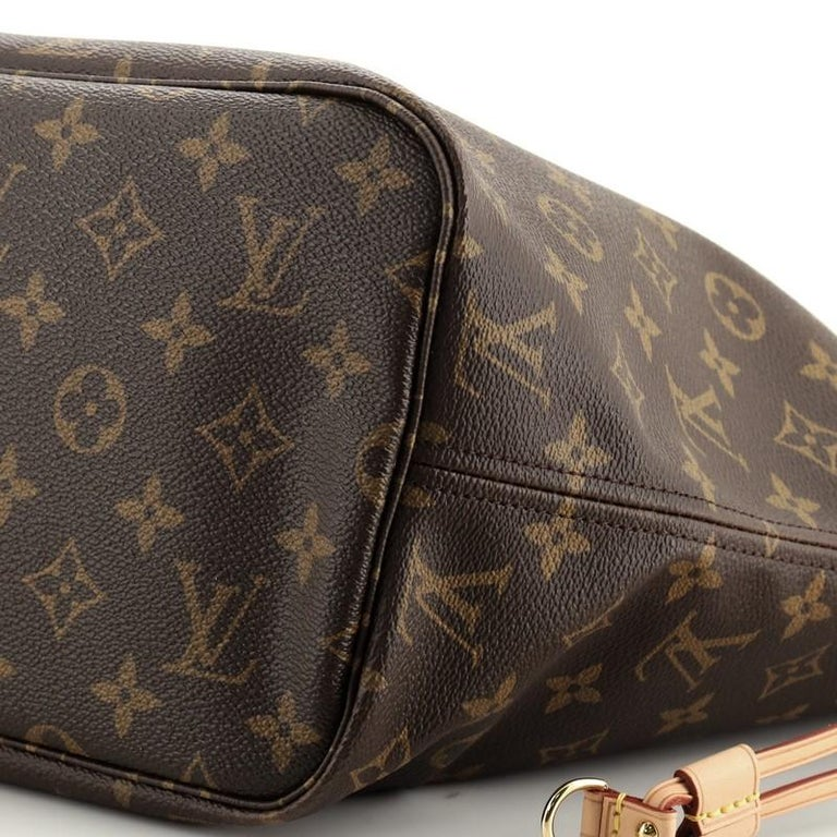 Louis Vuitton Neverfull NM Tote Monogram Canvas MM For Sale 2