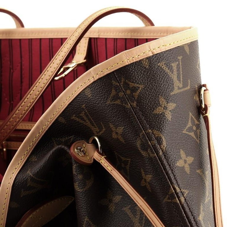 Louis Vuitton Neverfull NM Tote Monogram Canvas MM For Sale 3