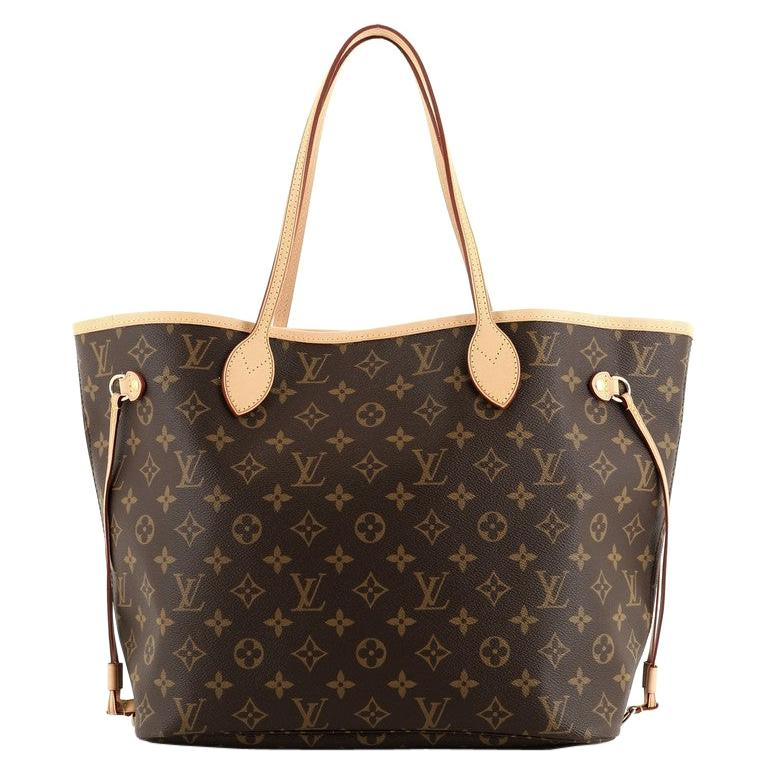 Louis Vuitton Neverfull NM Tote Monogram Canvas MM For Sale