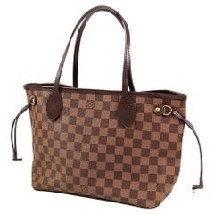 LOUIS VUITTON Neverfull PM Womens tote bag N41359 Damier ebene