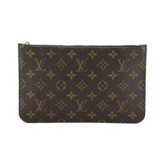 Louis Vuitton Neverfull Pochette Monogram Canvas Large
