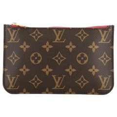 Louis Vuitton Neverfull Pochette Monogram Canvas Small