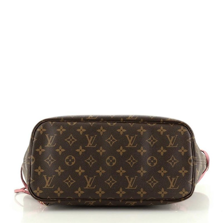 Louis Vuitton Neverfull Tote Limited Edition Ikat Monogram Canvas MM In Good Condition For Sale In New York, NY