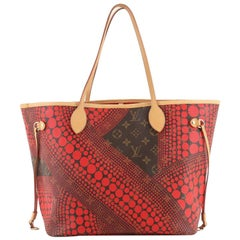 Louis Vuitton Neverfull Tote Limited Edition Kusama Waves Monogram Canvas