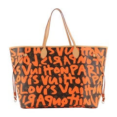 Louis Vuitton Neverfull Tote Limited Edition Monogram Graffiti GM