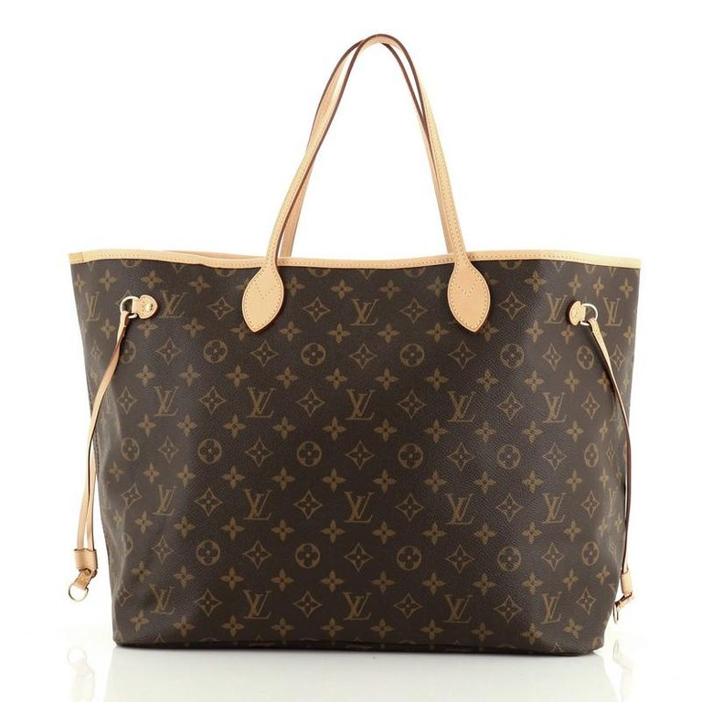 Louis Vuitton Neverfull Tote Monogram Canvas GM In Good Condition For Sale In New York, NY