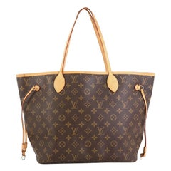 Louis Vuitton Neverfull Tote Monogram Canvas MM
