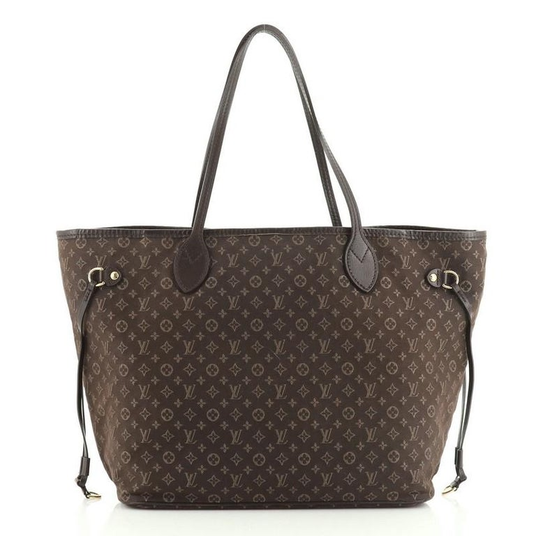 Louis Vuitton Neverfull Tote Monogram Idylle MM In Good Condition In New York, NY