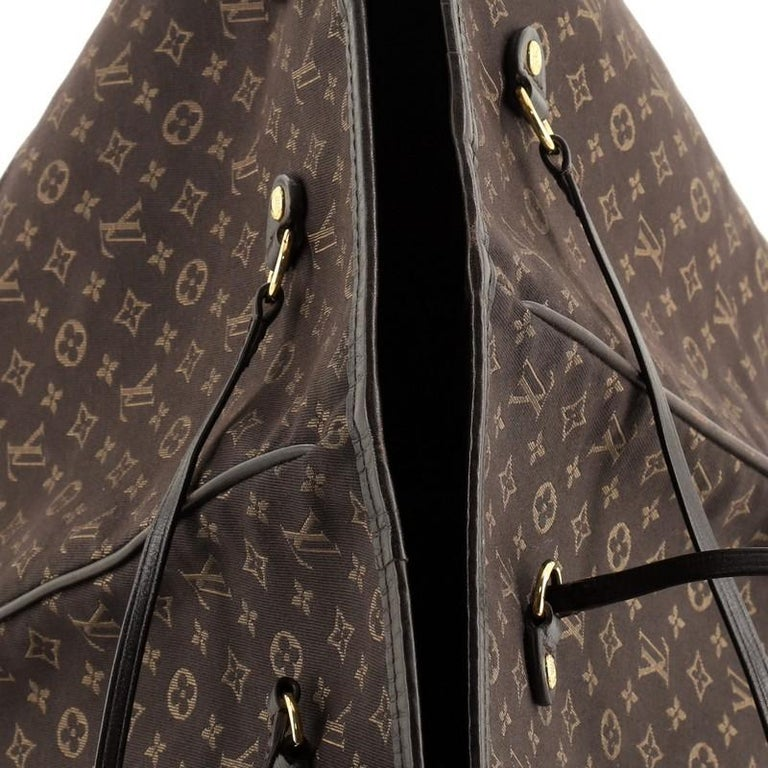 Louis Vuitton Neverfull Tote Monogram Idylle MM For Sale 2