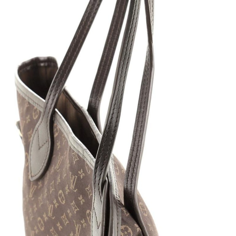 Louis Vuitton Neverfull Tote Monogram Idylle MM For Sale 3