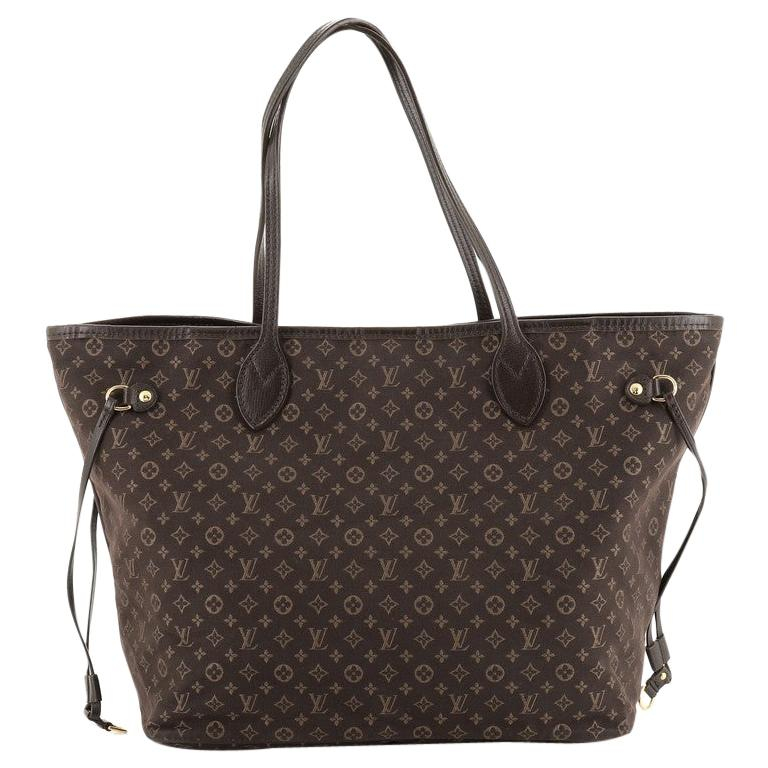 Louis Vuitton Neverfull Tote Monogram Idylle MM For Sale