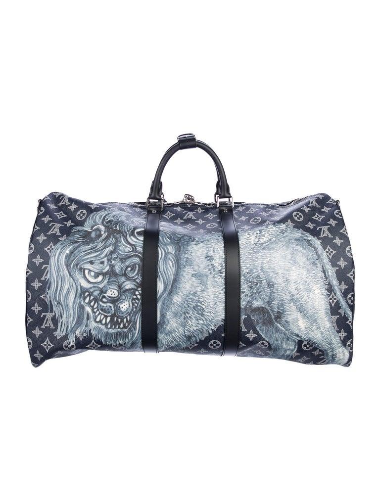 Louis Vuitton New Blue Mono Men S Women S Top Handle
