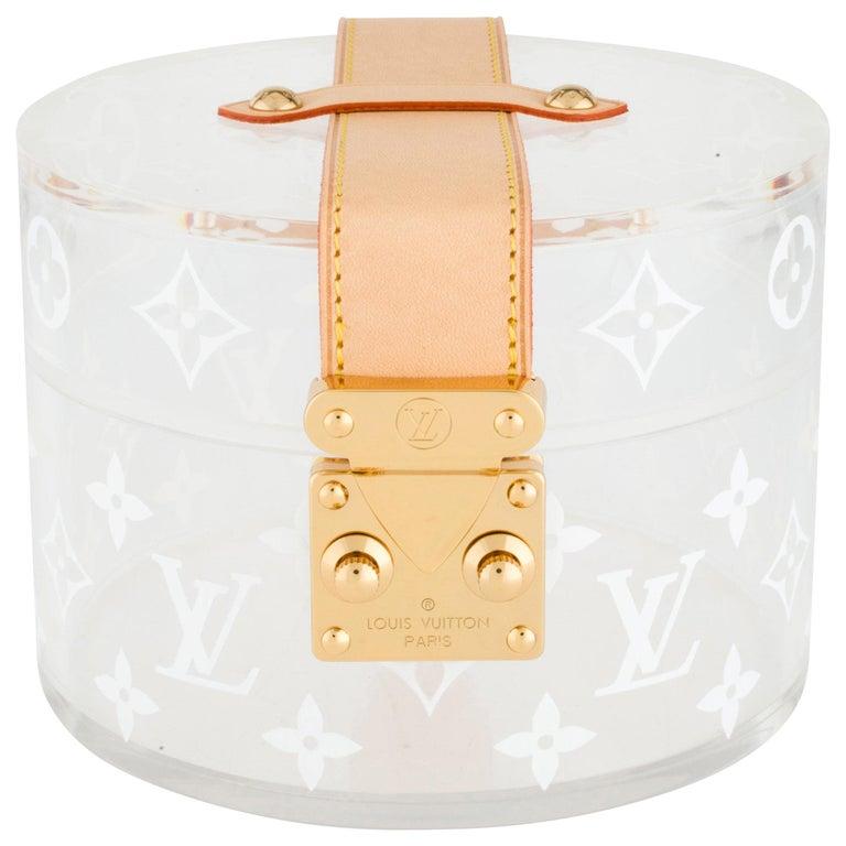 Miraculous Louis Vuitton New Limited Ed Monogram Plexi Leather Vanity Jewelry Trinket Box Creativecarmelina Interior Chair Design Creativecarmelinacom