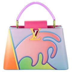 Louis Vuitton NEW Limited Edition Pink Multi Top Handle Satchel Shoulder Bag