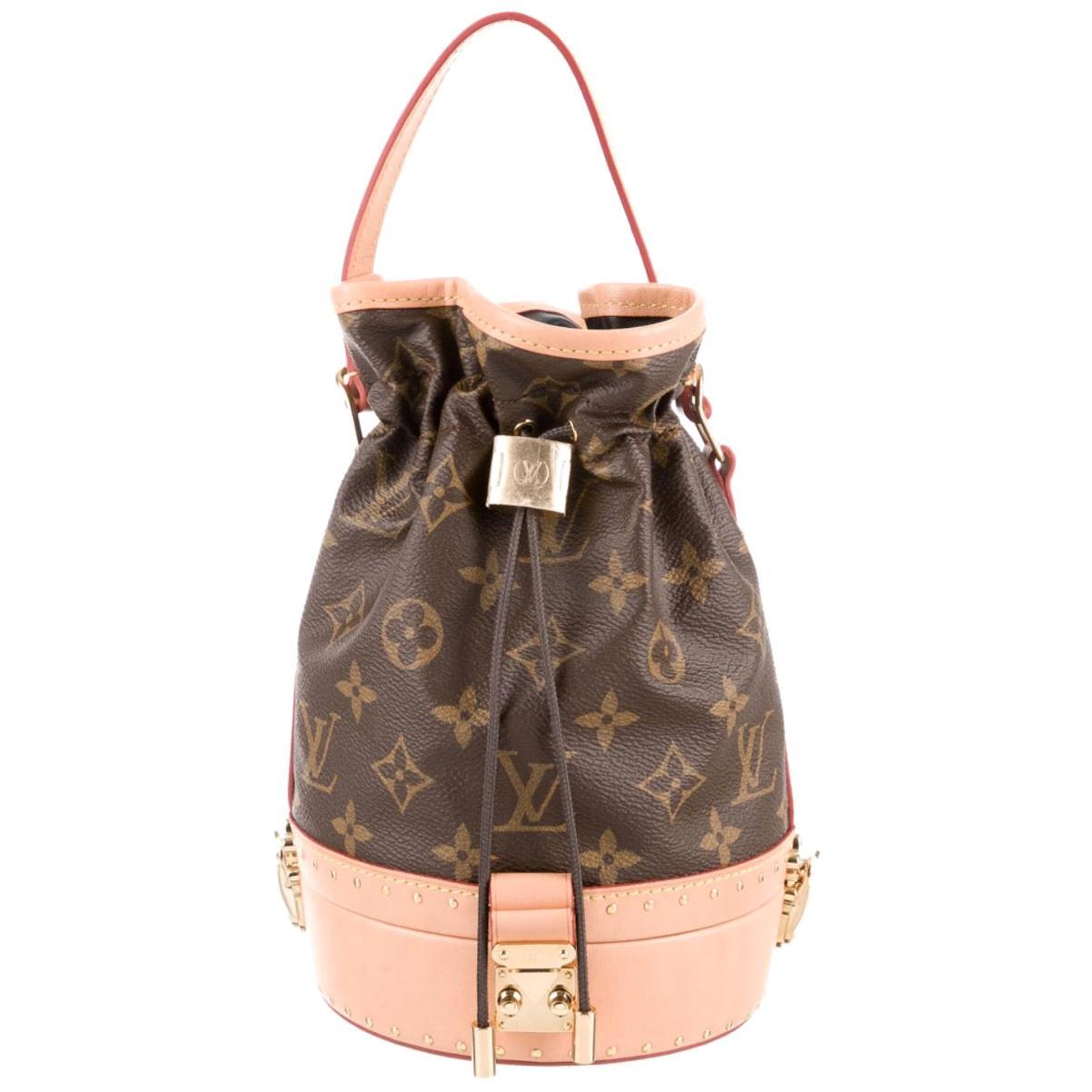 Louis Vuitton NEW Monogram Small Bucket op Handle Satchel Shoulder Bag