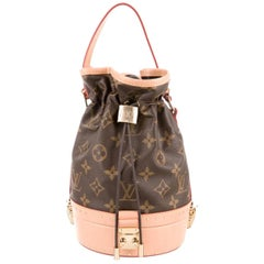 Louis Vuitton NEW Monogram Small Bucket op Handle Satchel Shoulder Bag