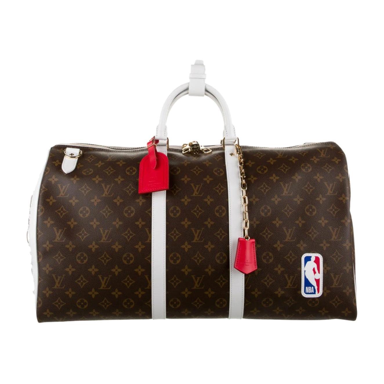 Louis Vuitton NEW Rare Monogram Men's Women's Carryall Travel Weekend Duffle Bag