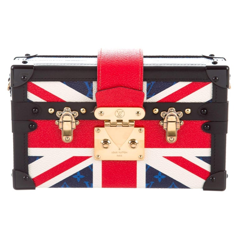 Louis Vuitton NEW Royal Union Jack Evening Small Clutch Shoulder Bag in Box   For Sale