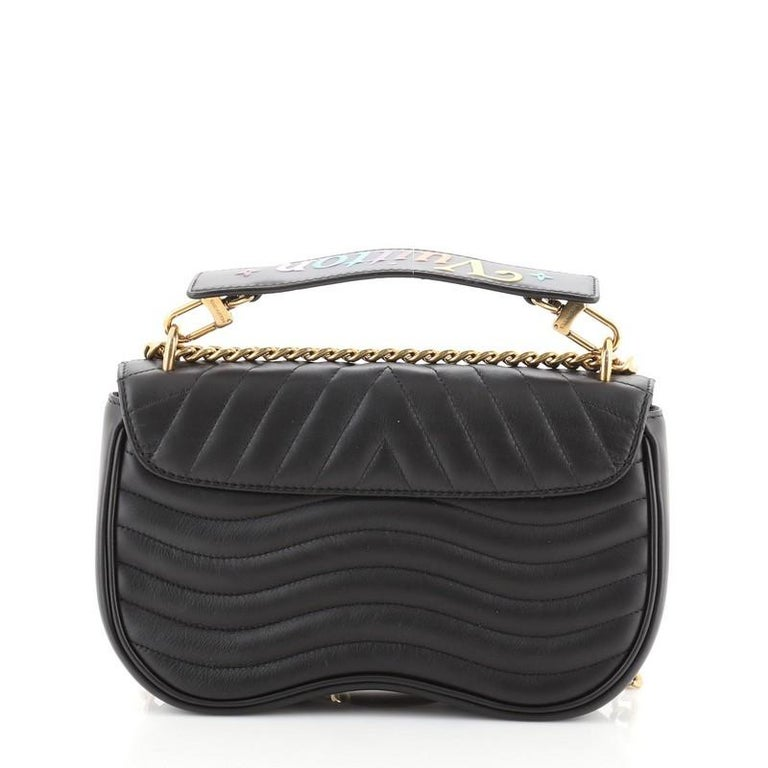 Women's or Men's Louis Vuitton New Wave Chain Bag Limited Edition Love Lock Quilted Leathe For Sale