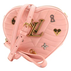Louis Vuitton New Wave Heart Crossbody Bag Limited Edition Love Lock Quilted