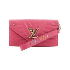Louis Vuitton New Wave Long Wallet Quilted Leather