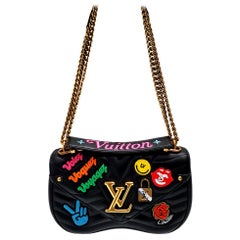 Louis Vuitton New Wave MM Black Hand Bag
