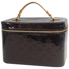 LOUIS VUITTON Nice Monogram Verni SPO Womens handbag Amaranto