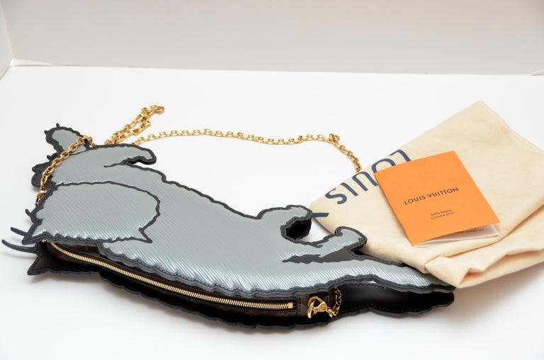 Louis Vuitton Nicolas Ghesquière X Grace Coddington Cat Mouse Handbag '19 NEW For Sale 2