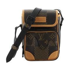 Louis Vuitton Nigo Amazone Messenger Bag Limited Edition Giant Damier