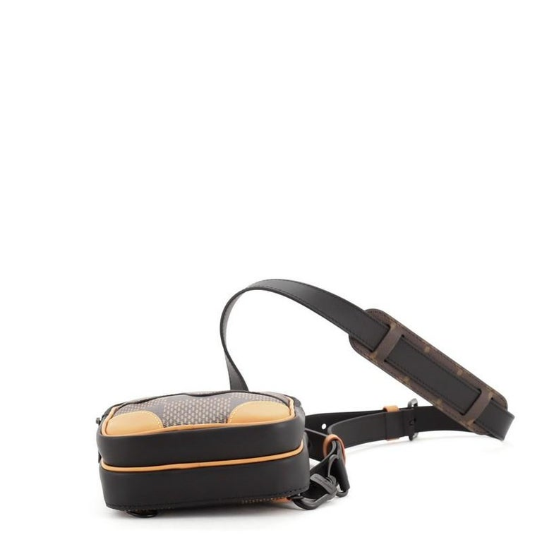 Women's Louis Vuitton Nigo Amazone Sling Bag Limited Edition Giant Damier and Mon For Sale