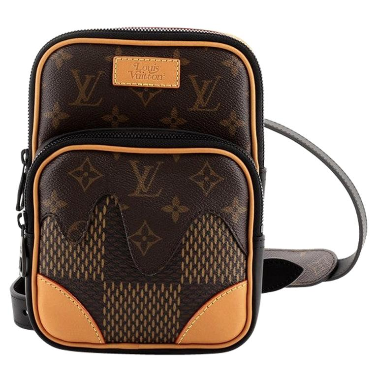 Louis Vuitton Nigo Amazone Sling Bag Limited Edition Giant Damier and Mon For Sale