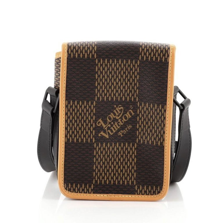 Women's or Men's Louis Vuitton Nigo Amazone Sling Bag Limited Edition Giant Damier and Monnogram For Sale