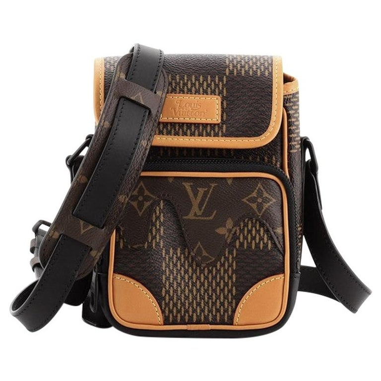 Louis Vuitton Nigo Amazone Sling Bag Limited Edition Giant Damier and Monnogram For Sale