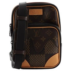 Louis Vuitton Nigo Amazone Sling Bag Limited Edition Giant Damier and Monogram