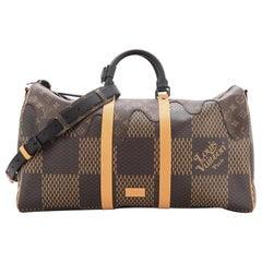 Louis Vuitton Nigo Keepall Bandouliere Bag Limited Edition Monogram Canvas 50