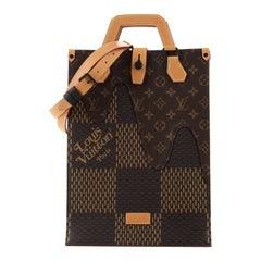 Louis Vuitton Nigo Tote Limited Edition Giant Damier and Monogram Canvas