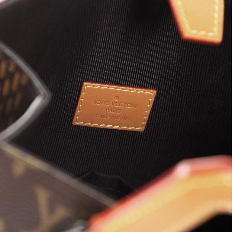 Louis Vuitton Nigo Tote Limited Edition Giant Damier and Monogram Canvas Mini For Sale 2