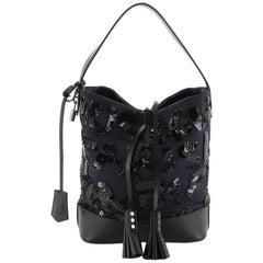 Louis Vuitton NN14 Spotlight Bucket Bag Sequin Graffiti Monogram Nylon GM