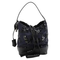 Louis Vuitton NN14 Spotlight Bucket Bag Sequin Graffiti Monogram Nylon PM