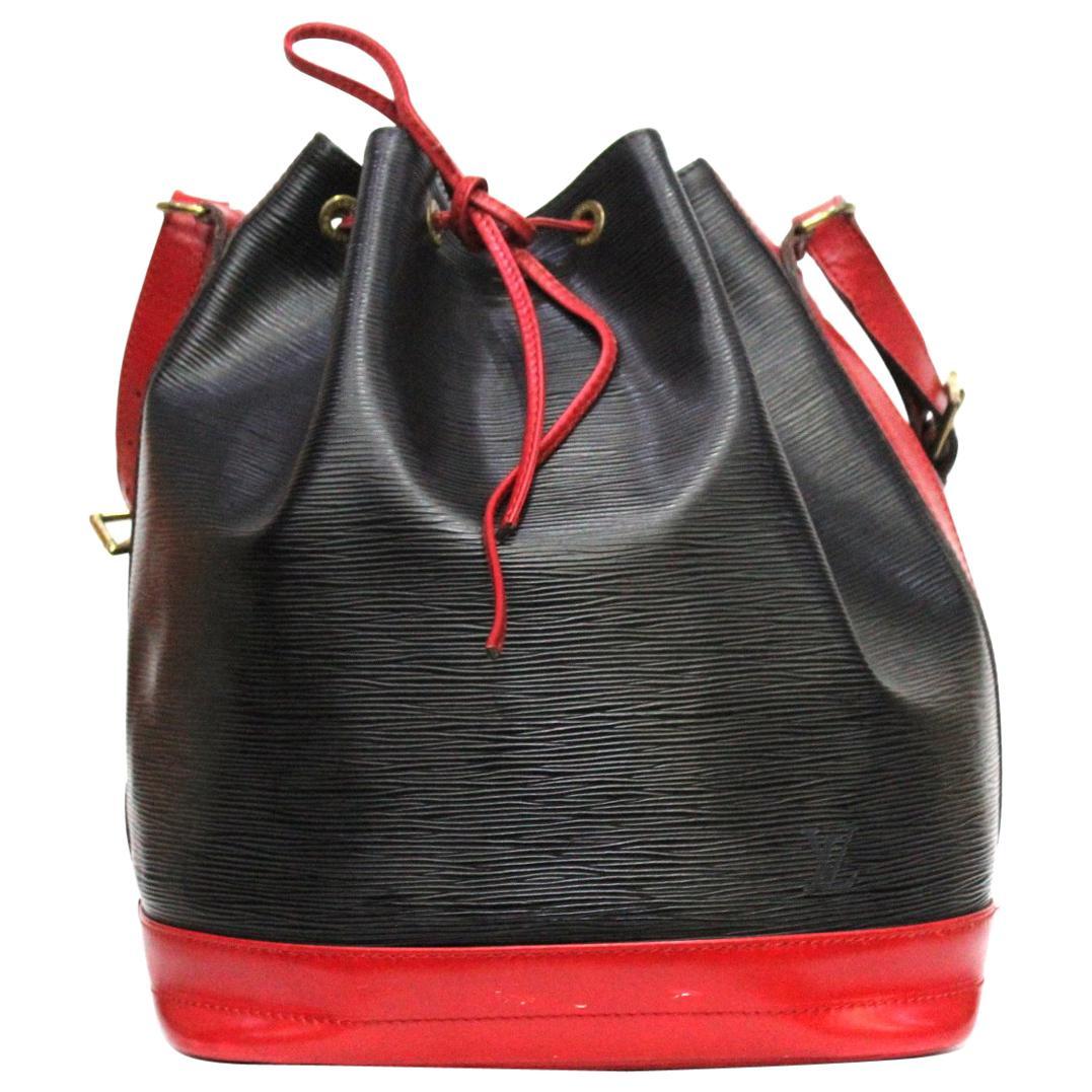 Louis Vuitton Noe Bicolor Drawstring Shoulder Bag