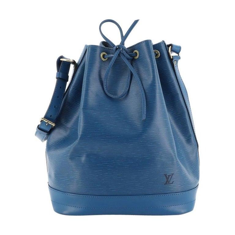Louis Vuitton Noe Handbag Epi Leather Large For Sale